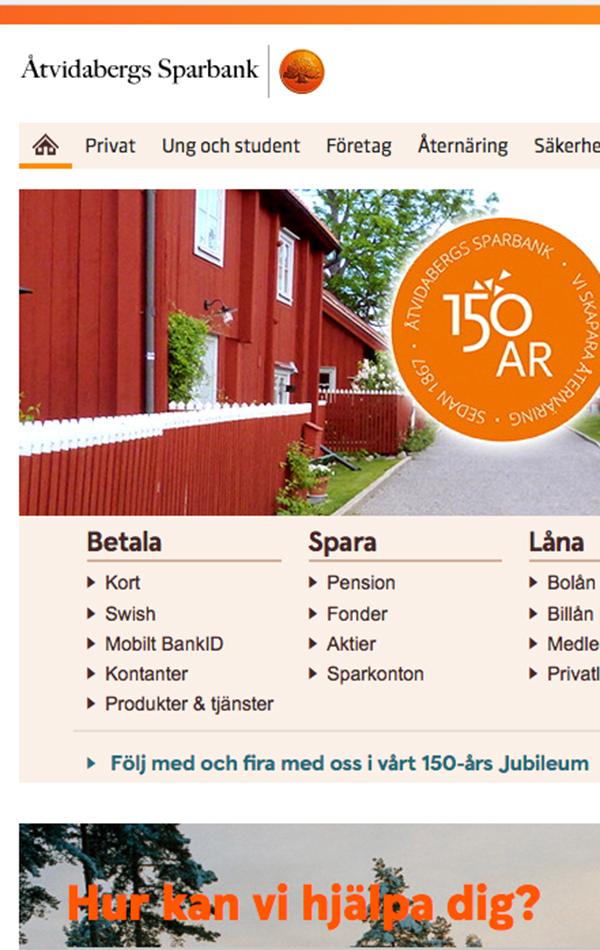 Åtvidabergs Sparbank - Digital strategi och content - Kreativ Kraft -  Kommunikationsbyrå i Linköping 9f361b0cb6542