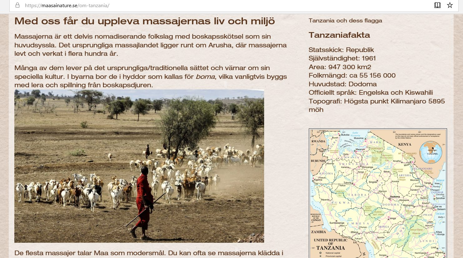 maasai nature referenscase