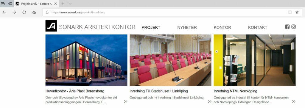 Sonark Arkitekter AB - Referenscase från Kreativ Kraft